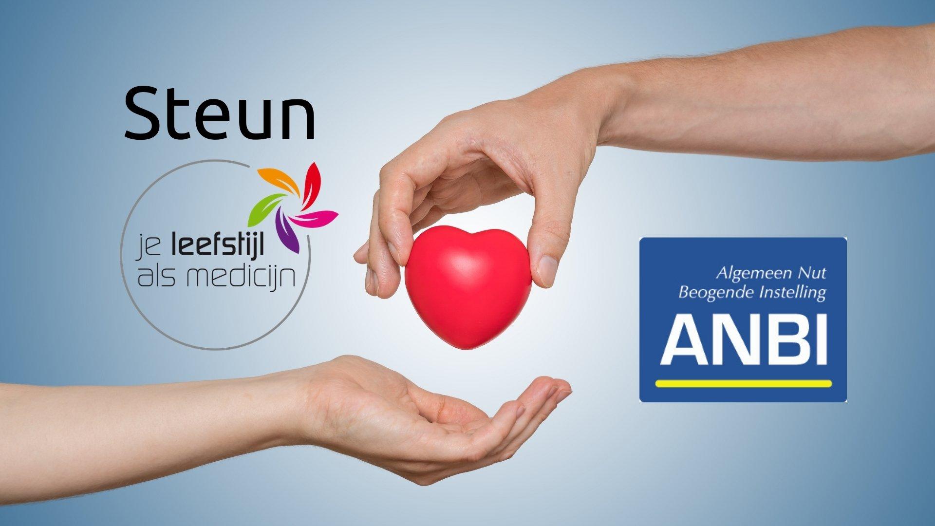 Steun Stichting Je Leefstijl Als Medicijn hero banner