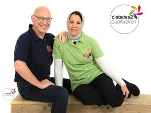 Wim Tilburgs en Saïda Tilburgs Diabetes 2 doorbreken bij Moslims