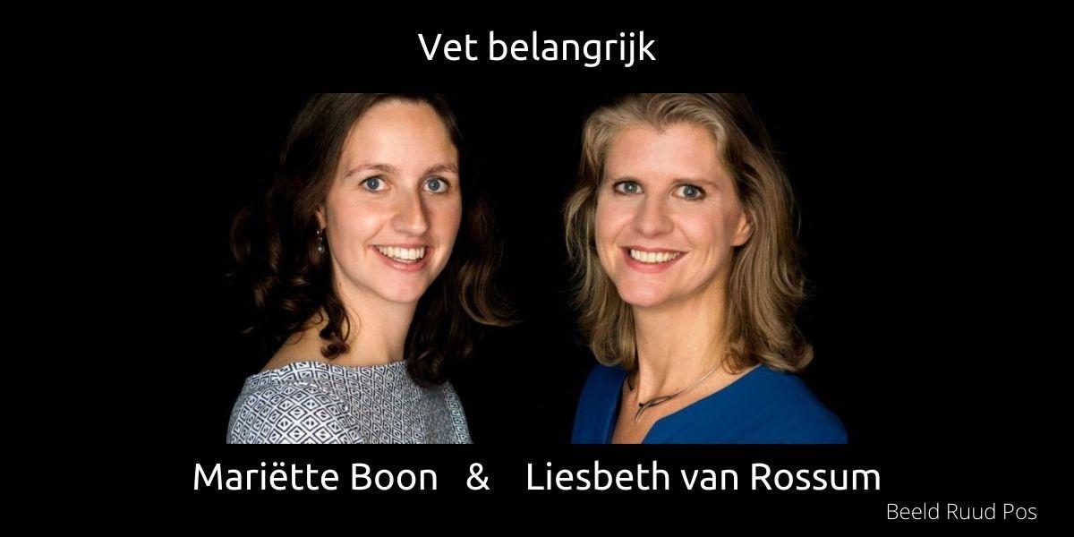 VET Belangrijk Mariëtte Boon en Liesbeth van Rossum